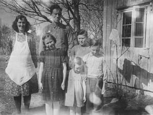 Peggy, Ingebrigt, Oddny, Åse, Asbjørn og Olav